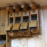 Hobel in Werkzeugschrank