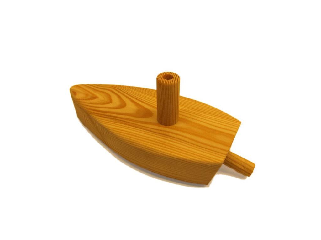 Das fertige Luftbalonboot